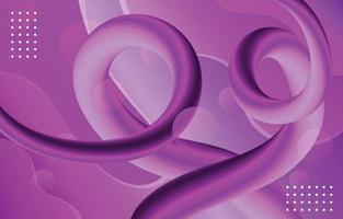 Fondo líquido abstracto lila lavanda vector