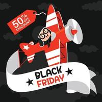 Concept Of Black Friday vector