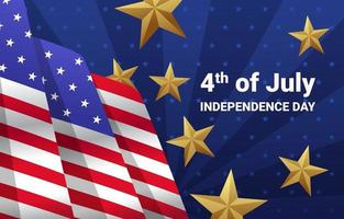 Fourth of July Celebration vector