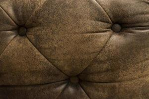 Old brown leather texture background photo