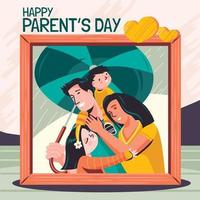 Picture for Happy Parents Day Concept vector
