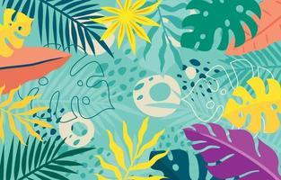 Floral Summer Background vector