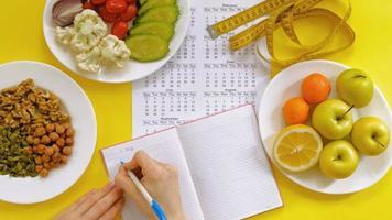 Food Diet Journal video