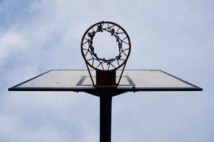 deporte de baloncesto callejero foto