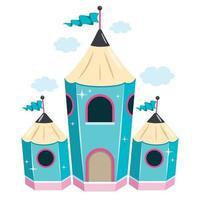 Fairy Castle Concept Design vector