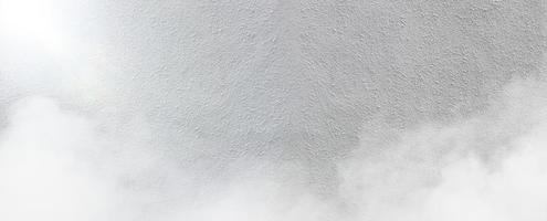 White cement wall with fog texture background Rough texture photo