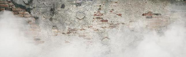The Old brick wall pattern texture background photo
