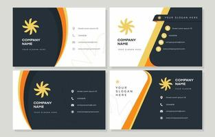 Corporate Business Name Card Collection vector