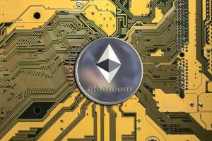 ethereum Crypto currency wallpaper photo