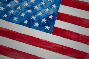 independence day usa 4th of july American flag photo