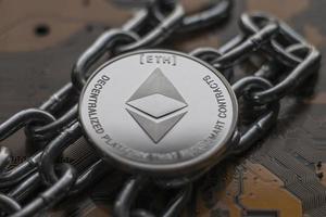 cripto moneda ethereum fondo de pantalla foto