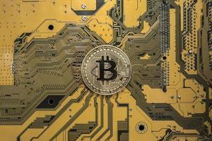Crypto currency bitcoin wallpaper photo