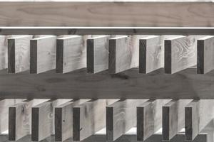 faded wood plank photo