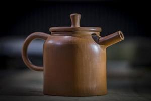 tetera de arcilla yixing ceremonia del té chino foto