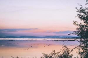 long exposure vanilla colorful sky photo