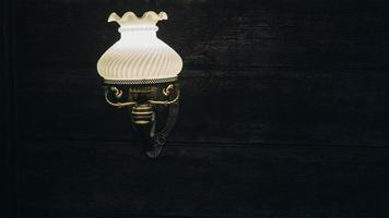 Outdoor wall lantern photo