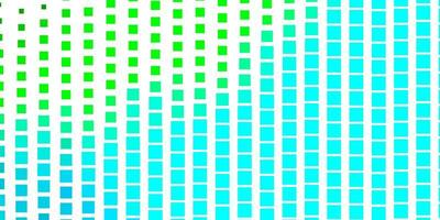 Light Blue Green vector background with rectangles Rectangles with colorful gradient on abstract background Template for cellphones