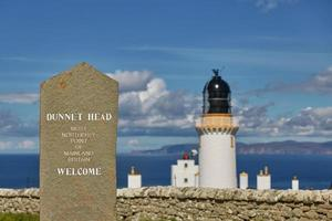 Dunnet Head Lighthouse on Dunnet Head photo
