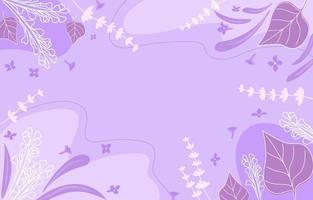 fondo lila tropical vector