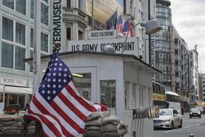 Checkpoint Charlie in Berlin, Germany photo
