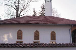 Beautiful mosque Muslim worship place photo