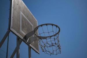 canasta de baloncesto de papel tapiz foto