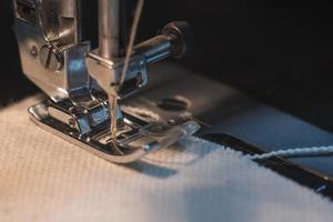 Wallpaper sewing machine foot photo