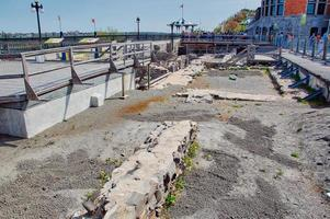 An archaeological site in Quebec City photo