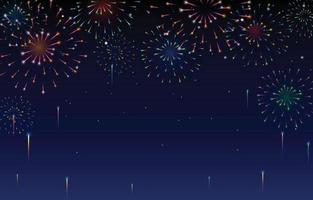 Firework Celebration Party vector