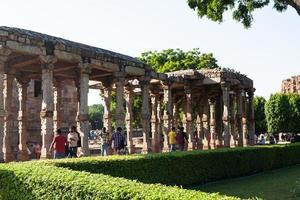 Qutub Minar in New Delhi, India photo