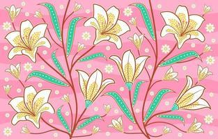 Indonesian Traditional Batik vector