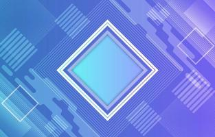 Geometric Abstract Blue Background vector