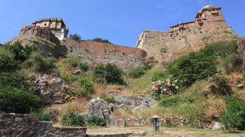 Kumbhalgarh Fort in Rajasthan India photo