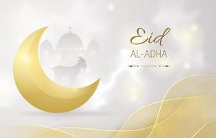 Elegant Eid Al Adha Background vector