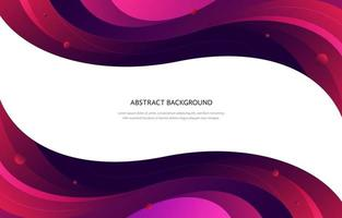 Red Waves Background vector