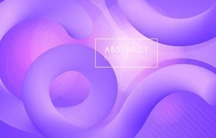 Modern Fluid Gradient Background vector