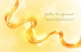 Luxury Yellow Shades Background vector