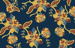 Floral Pattern Batik vector