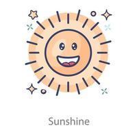 Sunshine Morning Phase vector