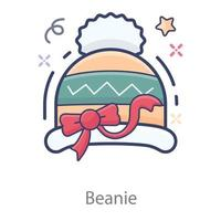 Beanie  Winter Head vector