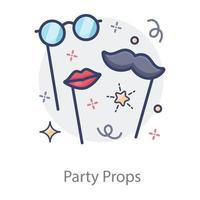 Party Props style vector