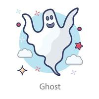 Monster and Ghost vector