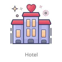 Hotel and Room Services vector