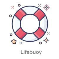 Lifebuoy Belt Guard vector