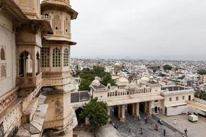Udaipur City Palace in Rajasthan, India photo