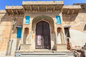 Haveli in Mandawa, Rajasthan, India photo