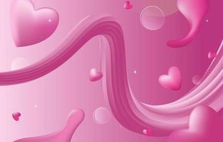 Liquid Pink Background vector