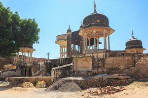 Old Well in Mandawa, Rajasthan, India photo