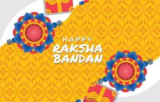 Hindu Tradition of Raksha Bandhan Ritual vector