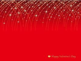 Valentines Day Seamless Vector Background Illustration With Streaks Of Shooting Stars On A Red Background